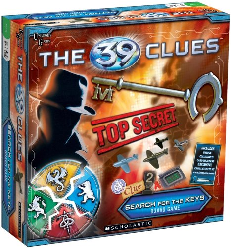 (39 Clues Search for the Keys Game By University)