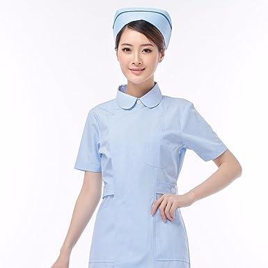 Xuanku Schwester Arzt Tragen Weiße Kurzärmeliges Sommer Tragen Weiße ...