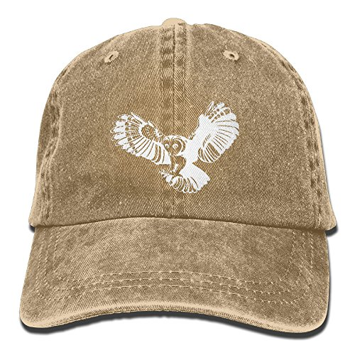 Owlet Baby Costume (Owl Swooping Down On Prey Unisex Adjustable Cotton Denim Hat Washed Retro Gym Hat FS&DMhcap Cap Hat)