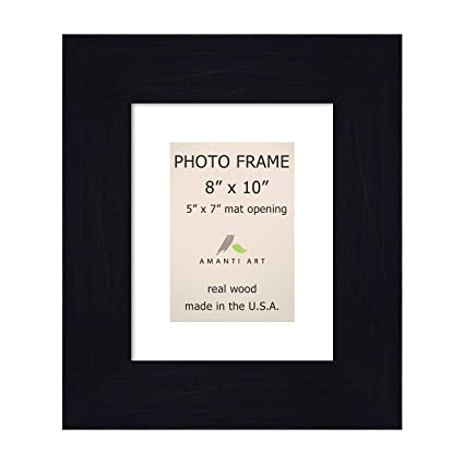 Amazon com: Amanti Art Picture/Photo Frame 8x10 Matted to