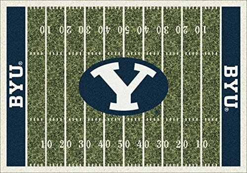Brigham Young (BYU) Cougars Milliken NCAA Home Field Area Rug (5'4