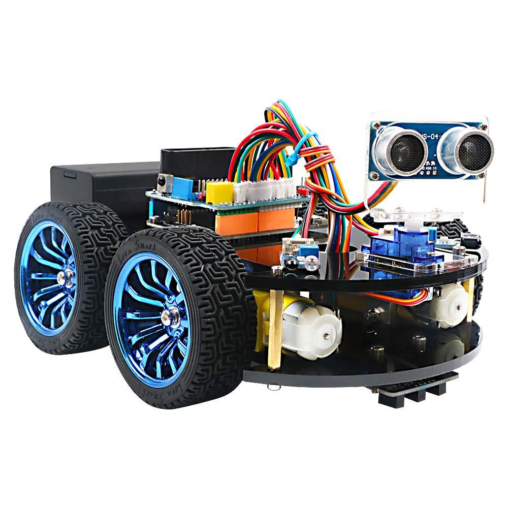 Arduino Robot Kit (soporta arduino IDE, Mixly y Scratch)