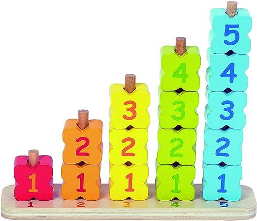 WDK Partner Zahleneinlagen, 3 in 1, 6044192, Mehrfarbig