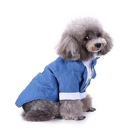 ELLANM Traje de Perro de Mascota Traje apuesto Ropa para ...