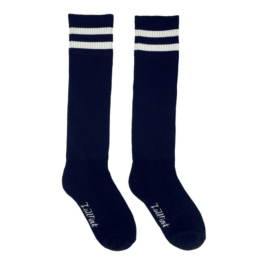 Luwint Kids Long Soccer Socks - Extra Cushion Thick Cotton Stripe Football Stocks for Boys Girls Children