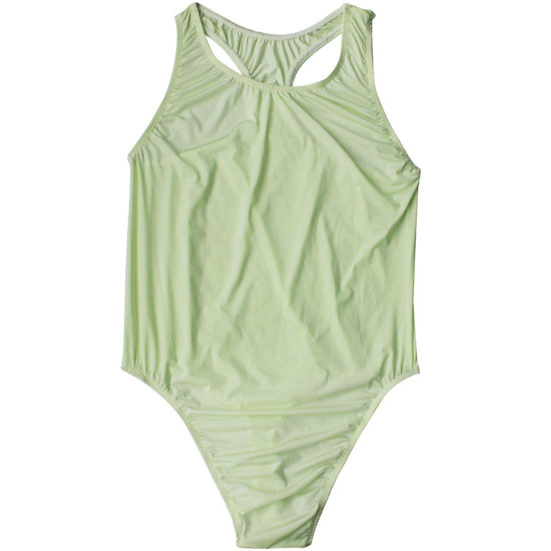 iiniim Mens Soft Smooth Freestyle Wrestling Singlet Bodysuit Stretchy Thong Underwear