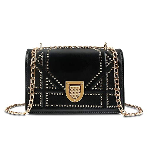 0559e805202a Olyphy Designer Leather Shoulder Bag for Women,Fashion Chain Crossbody Bag  Small Purse