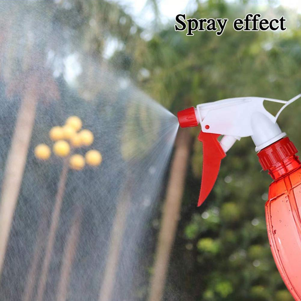 500ML Refillable Sprayer Leak Proof Durable Trigger Sprayer with Mist/& Stream Modes for Essential Oil,Water,Kitchen,Bath,Gardening and Cleaning Large Size Empty Spray Bottle