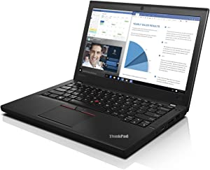 "Lenovo ThinkPad X260 20F6005HUS Laptop (Windows 7 Pro, Intel Core i5, 12.5"" LED-Lit Screen, Storage: 500 GB, RAM: 8 GB) Black"