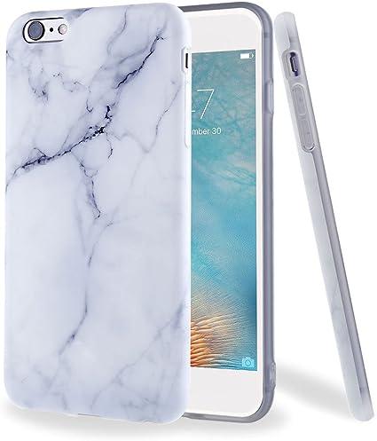 Leathlux Custodia per iPhone 6 6S, Premium Marmo Modello Morbido TPU Custodie Protettivo Bumper Flessibile Silicone Gel Ultra Sottile Cover per Apple ...