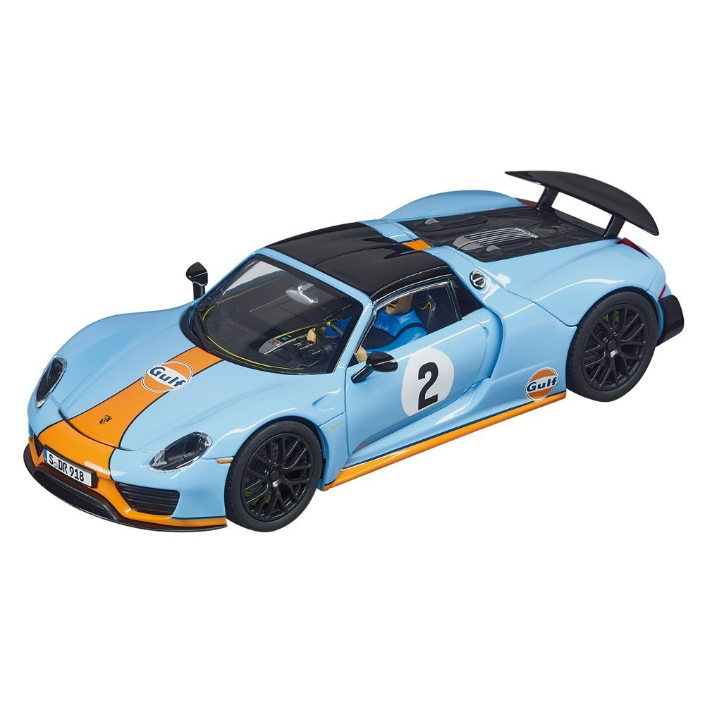 Carrera 20030788 Digital 132 Porsche 918 Spyder Gulf Racing No. 02