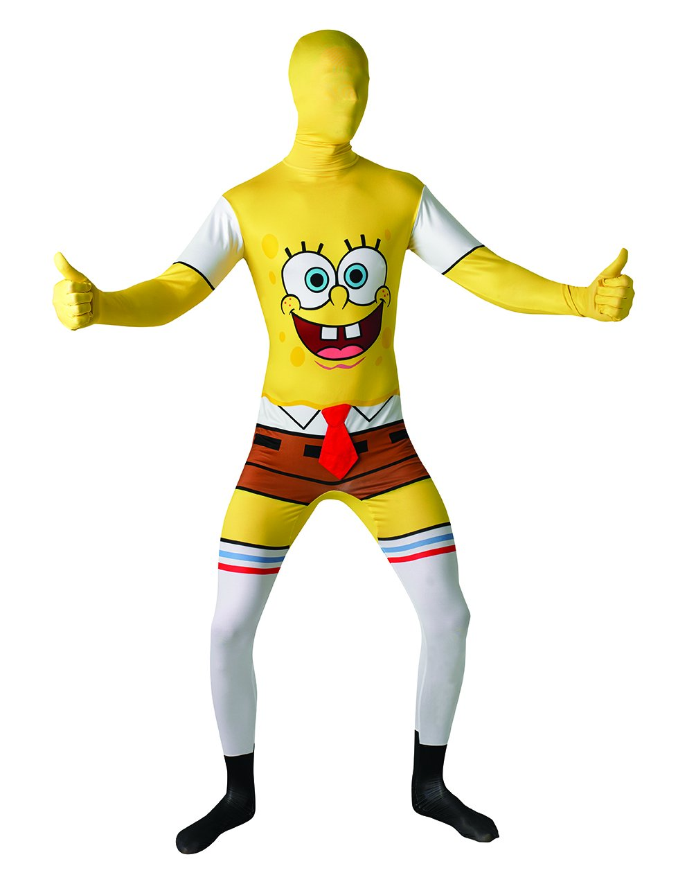 XL Rubie's Official Adult's Spongebob Square Pants 2nd Skin Costume, XLarge