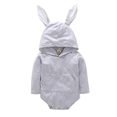 54072c8c4 Baby Hooded Romper for 0-24 Months Kids