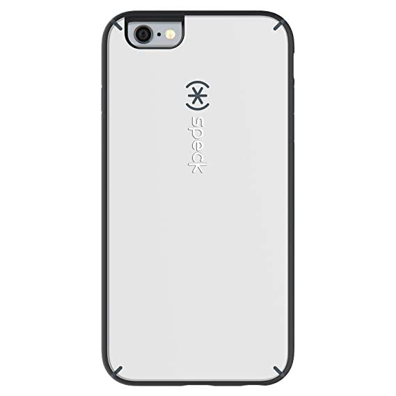 the best attitude 10ace 1bd93 Speck Products MightyShell Case for iPhone 6 Plus/6S Plus - White/Charcoal  Grey/Slate