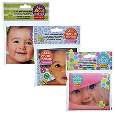 Modern Publishers All About Babies Bath Time Bubble Book Counting 123, Colors, and Baby Face!: Toys & Games