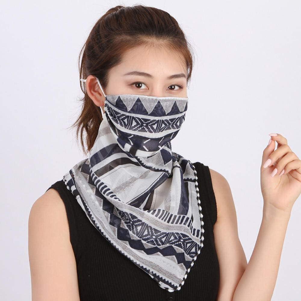 Vitila Breathable Headwear Balaclava Ski UV Resistance Headwear Windproof Ladies Chiffon Tassel Scarf Women For Wind Proof