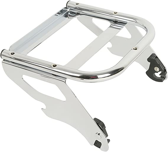 and FLTR models equipped with solo seat and required docking hardware 1997-2008 FLHX XMT-MOTO Detachable Solo Tour Pak Mount Luggage Rack For Harley Road King Replaces # 53260-02A