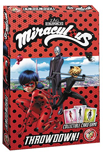 Action Lab Miraculous Throwdown Card Game