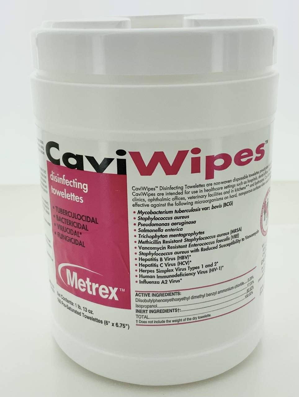 CaviWipes Metrex Towelettes Canister Wipes– for phone