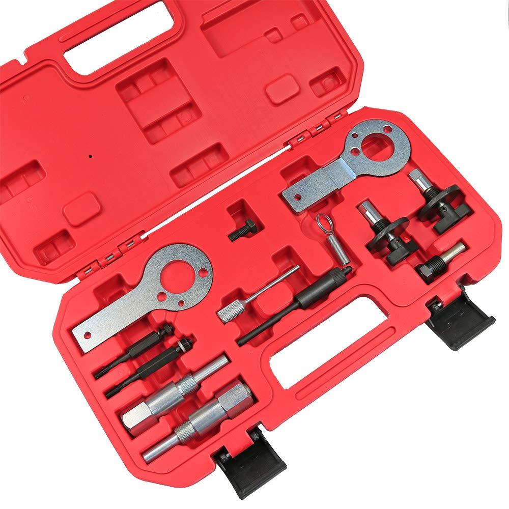 Best Q Motor Timing Lock Tool Kit per Opel Saab 1.3//1.9 CDTI Cinghia di Ricambio