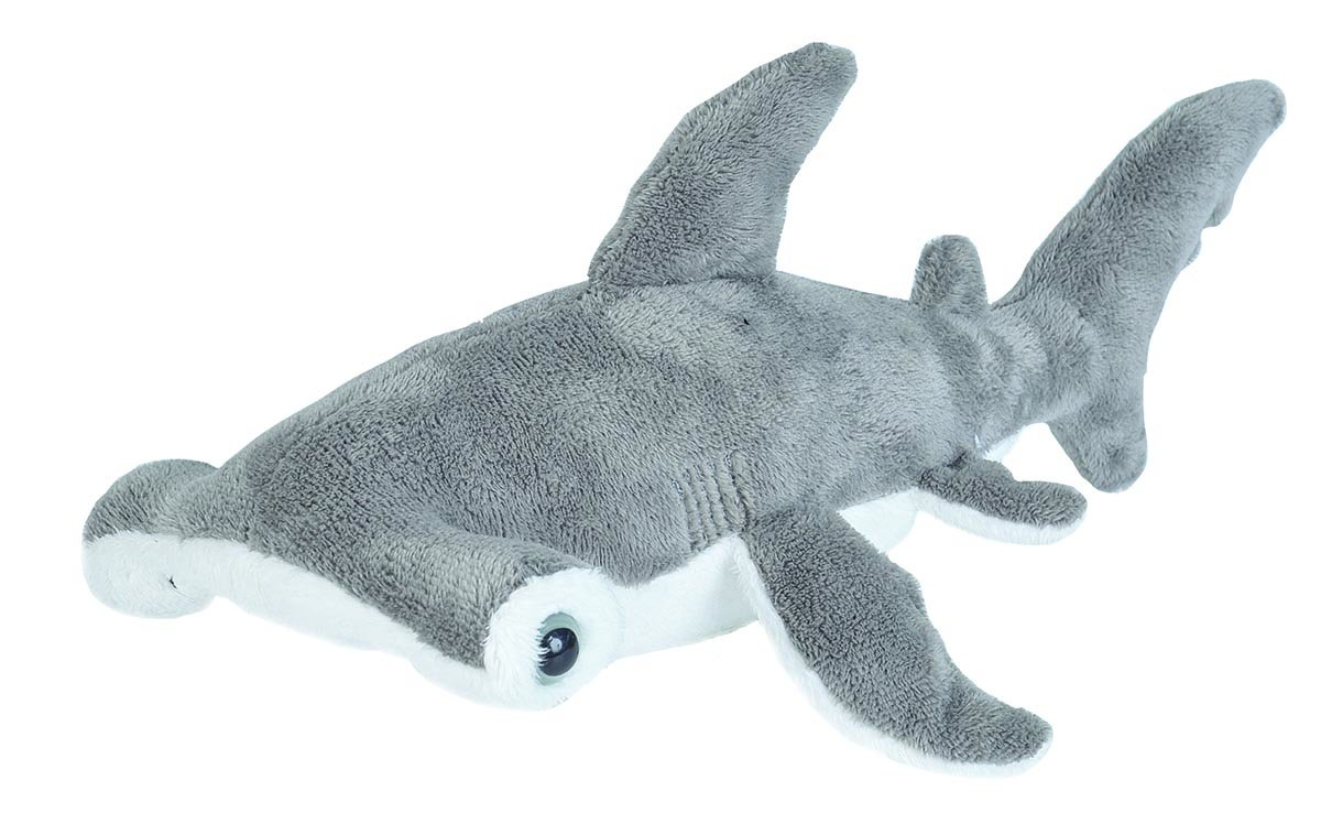 Wild Republic Hammerhead Stuffed Animal, Plush Toy, Sea Animals, Gifts for Kids, Sea Critters 11""