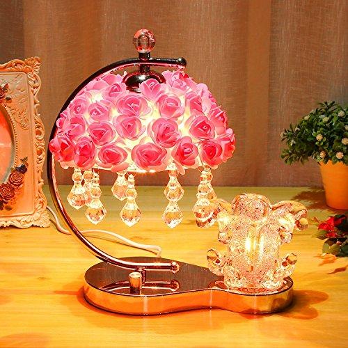 Kreative Rosa Hochzeit Geschenk lampe Dimmen von Licht, die Ehe Zimmer Schlafzimmer Nachttischlampe, Hochzeit Geschenke, D, Schalter des Helligkeitsreglers