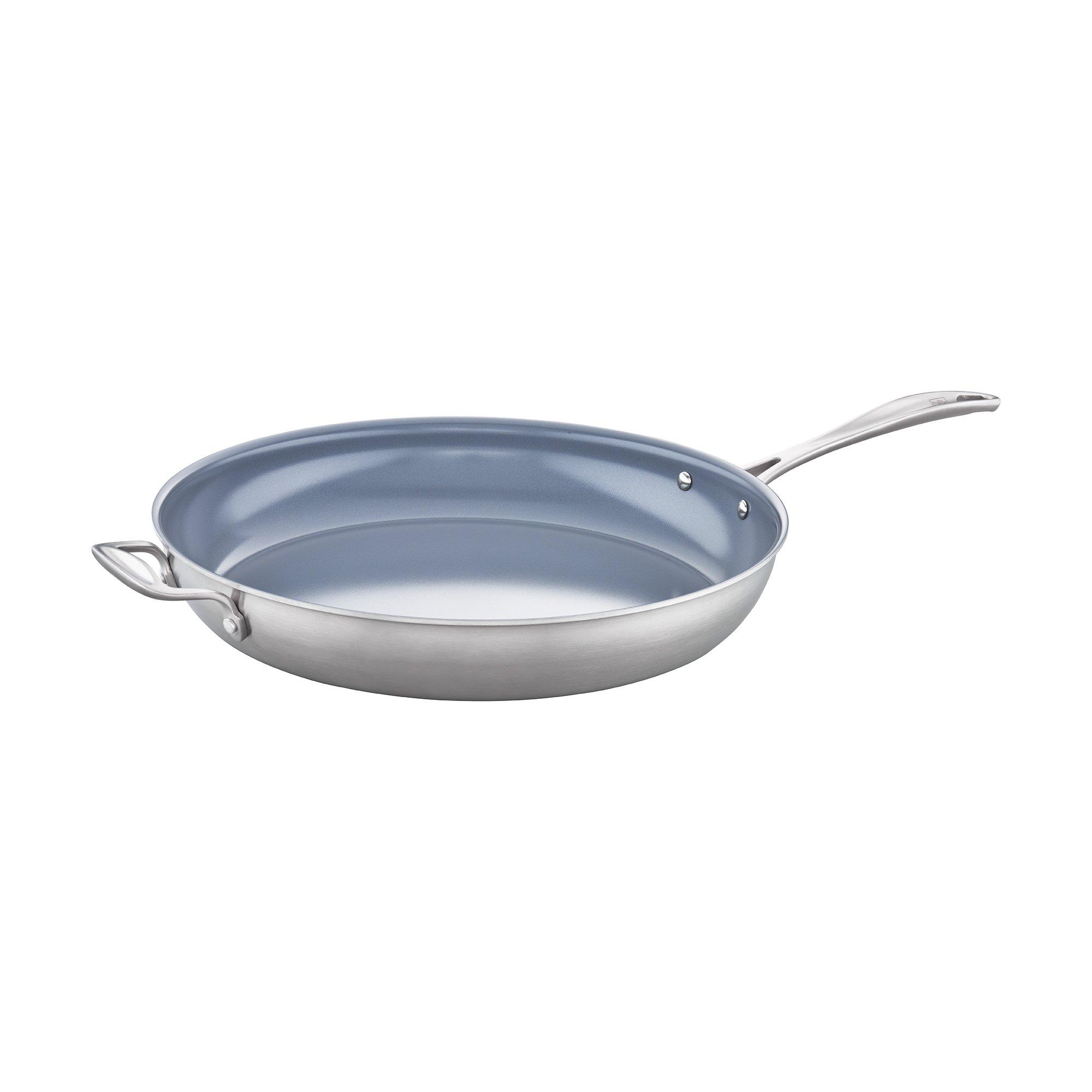 ZWILLING Spirit 3-ply 14'' Stainless Steel Ceramic Nonstick Fry Pan