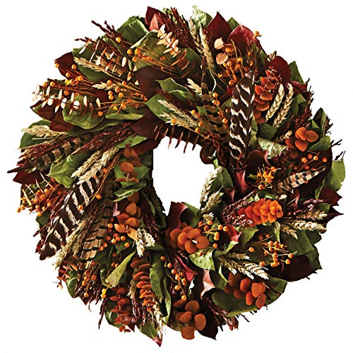 (Monticello Wild Feather Wreath)