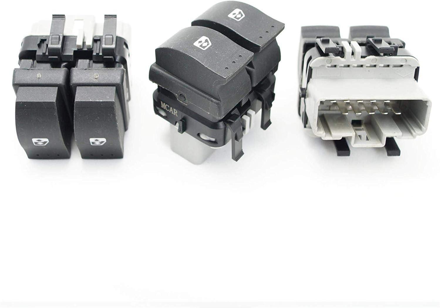 Fensterheber Schalter Vorne für Renault Megane 2 Laguna 2 Scenic II Espace 10Pin