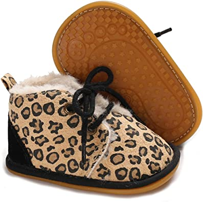 Baby Girls Autumn Shoes Double Velour Comfy Shoes Soft Shoes Flats Shoes Kids
