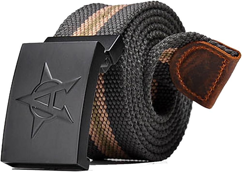 Gardening Spring Mens Canvas Belt Adjustable Waist Belt Canvas Belt