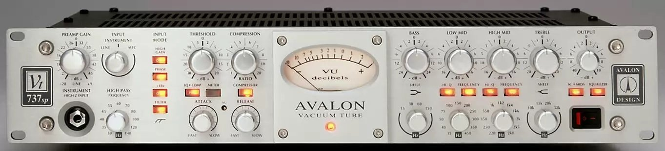 Avalon VT-737sp Class A Mono Tube Channel Strip Limited Edition by Avalon