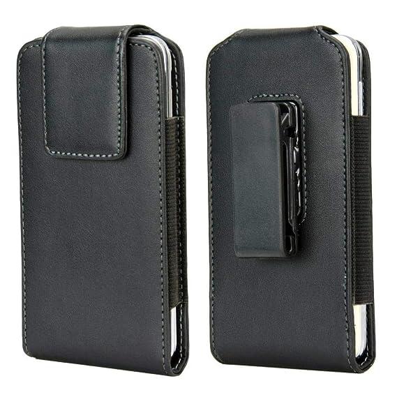 21588f08bd60 Amazon.com: Men Faux Leather Travel Belt Clip Holster Case Pouch ...