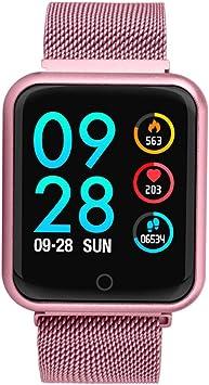 JingJingQi Reloj inteligente Reloj inteligente a prueba de agua a ...