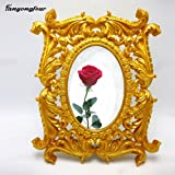 PlenTree 3D Pattern Frame Cake Cake Mold Mold Chocolate Gypsum Candle soap Mold: 004