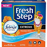 Fresh Step Extreme Scented Litter with the Power of Febreze, Clumping Cat Litter, 25 Pounds