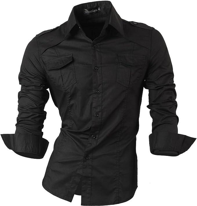 9 Camicia Con Button-Down collare Casa Moda-Comfort fit-uomo per il tempo libero 1//2-arm