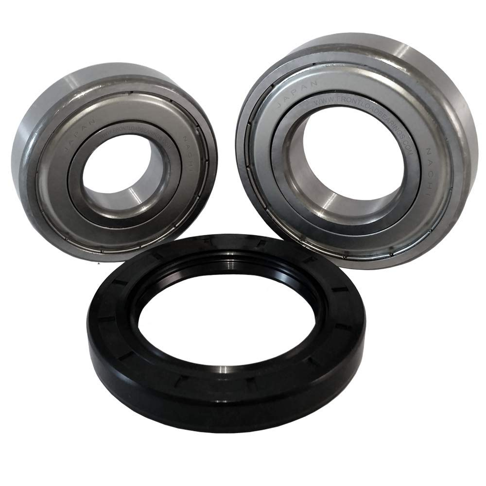 Front Load Bearings Washer Tub Bearing and Seal Kit with Nachi bearings, Fits Frigidaire & Kenmore Tub 134956200 (Includes a 5 year replacement warranty and link to our''How To'' videos) by Front Load Bearings