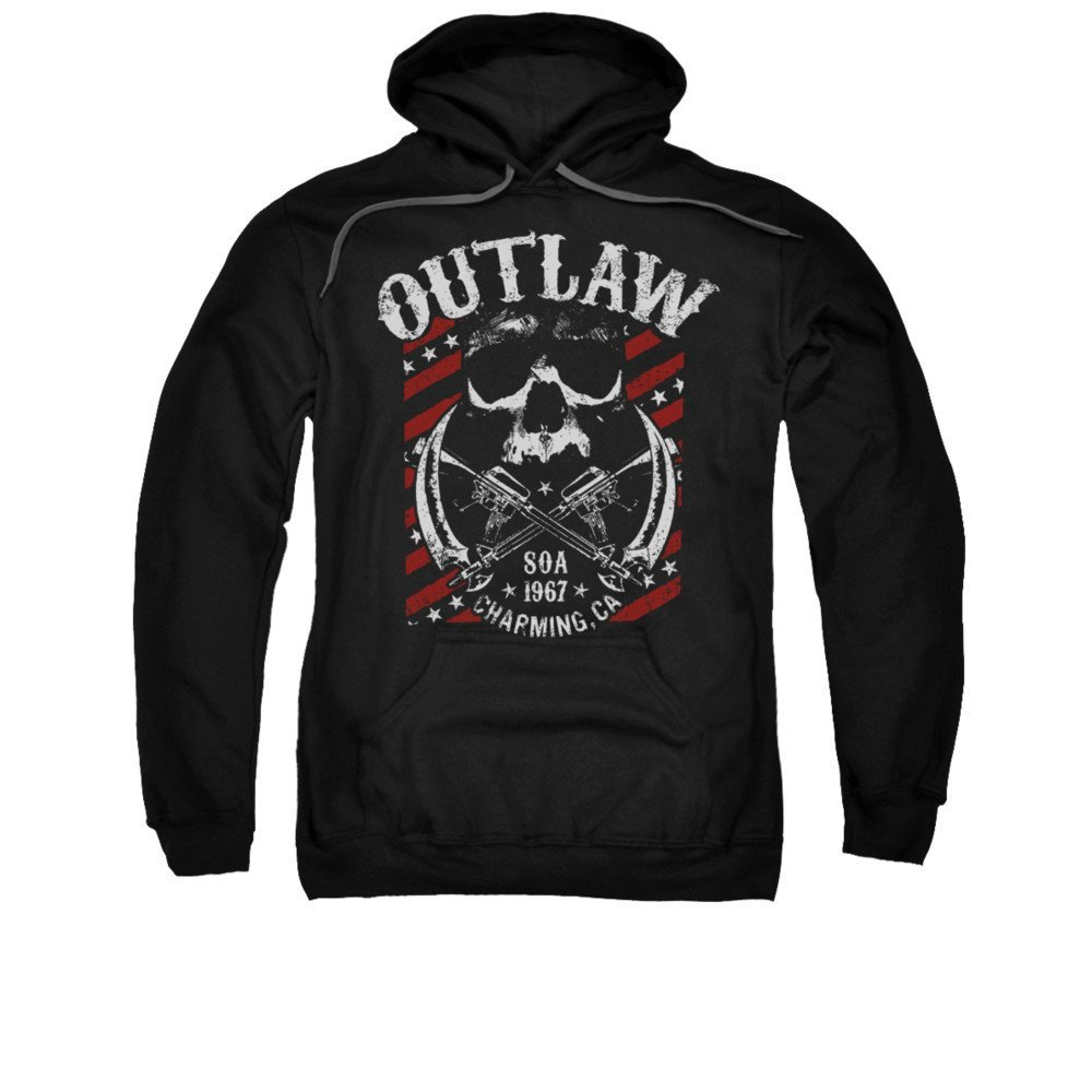 Sons Of Anarchy Outlaw Adult Pull-over Hoodie