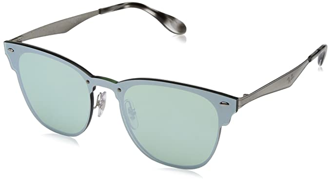 fbbb109d8b8bf Amazon.com  Ray-Ban Kids  Steel Unisex Square Sunglasses