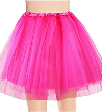 Sunmiy - Falda de Tul para Adolescente de Adulto, elástica, 3 ...