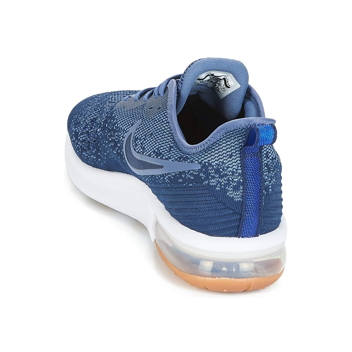 Nike Air Max Sequent 4 Herren Laufschuh midnight navyobsidian diffused blue AO4485 400