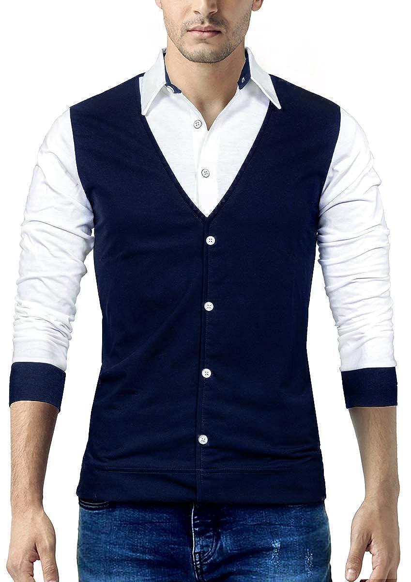 Seven Rocks Regular Fit Men's Cotton T-Shirt (T16)
