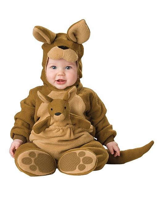Canguro Animal bebé Disfraz 3 - 24 M Manga Larga de Franela One ...