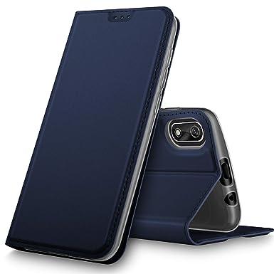 reputable site 6fce5 24466 Geemai Cubot J3 Case, Cubot J3 Cover [Card Holder] [Magnetic Closure]  Premium Leather Flip Wallet Case Cover for Cubot J3 Smartphone, Blue