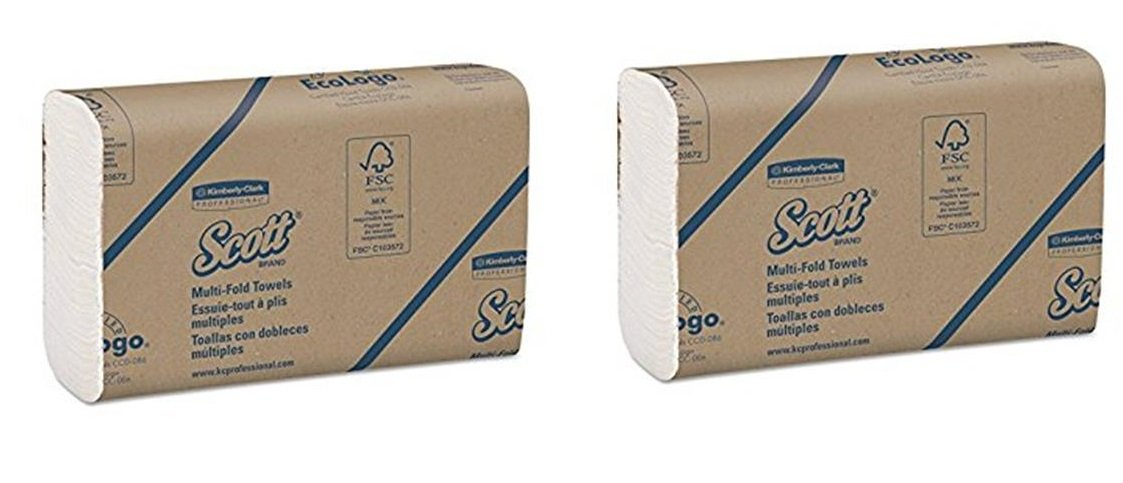 Amazon.com: Scott Multifold Paper vDBoT Towels (01804) with Fast-Drying Absorbency Pockets, White,250 Count (2 Pack): Home & Kitchen
