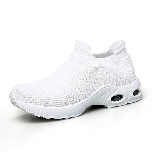 AONEGOLD Zapatos Deporte Mujer Zapatillas Deportivas Correr Gimnasio Casual Zapatos para Caminar Mesh Running Transpirable Sneakers