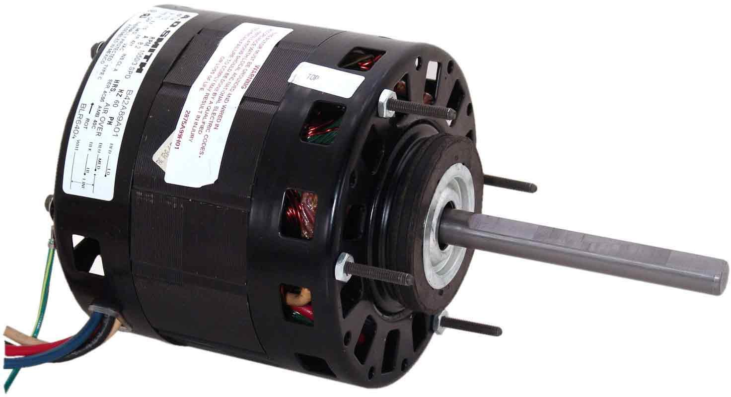 AO Smith 9703 5.0-Inch Frame Diameter 1/8 HP 1050 RPM 115-Volt 5.1-Amp Sleeve Bearing Blower Motor