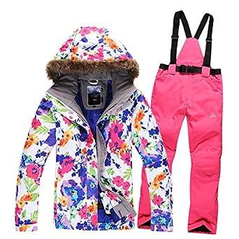 LEIT YFF Ski Snowboard Femenino Traje Chaqueta Cortavientos ...