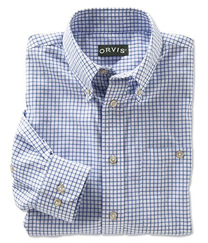 orvis-mens-country-twill-shirts-blue-white-large